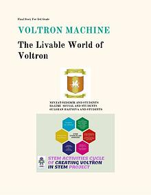 VOLTRON MACHINE FINAL STORY FOR 3.TH TEAM