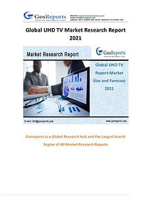 Global UHD TV Market Research Report 2021