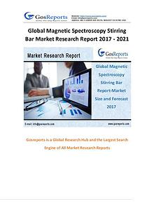 Gosreports New Market Research on Magnetic Spectroscopy Stirring Bar