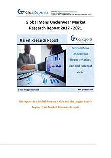 Global Market Research on Mens Underwear Market 2017