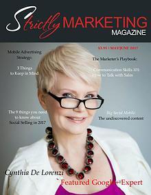 Strictly Marketing Magazine May/June 2017  Dave Mattson Column