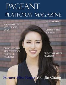 Pageant Platform Magazine May June 2018 Issue