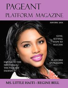 Pageant Platform Magazine Nov/Dec 2018 Issue