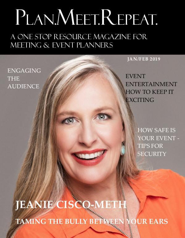 Plan.Meet.Repeat January February 2019 Issue plan meet repeat jan feb 2019