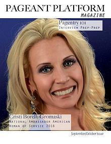 Pageant Platform Magazine Sept Oct 2019