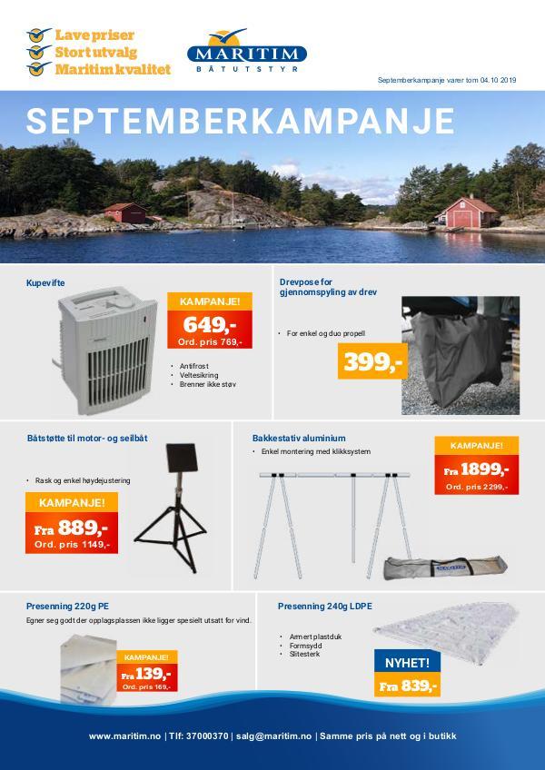 Septemberkampanje Septemberkampanje2019