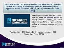 Global Gas Turbines Market Overview, By MarketIntelReports