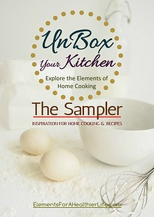 """UnBox Your Kitchen Journal """"The Sampler"""""""