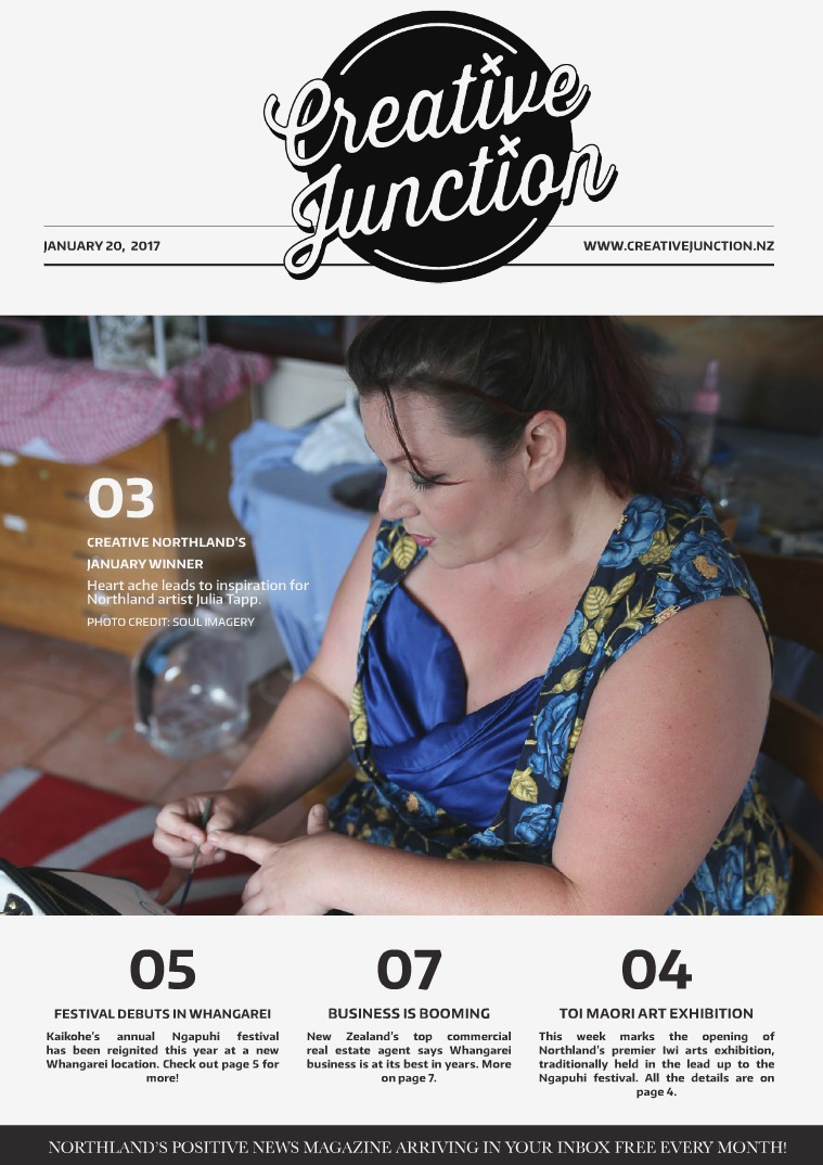 Creative Junction Magazine January 20th