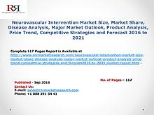 Neurovascular Intervention Market Analysis and Forecasts to 2021