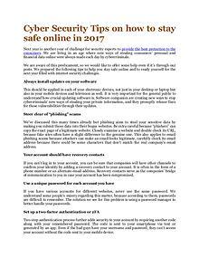 Online Info Blog