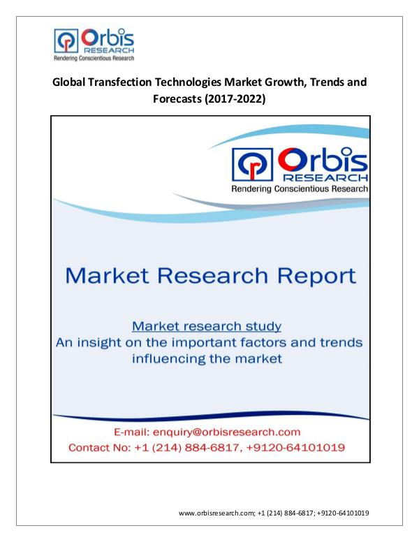 Global Transfection Technologies Industry Value Wi