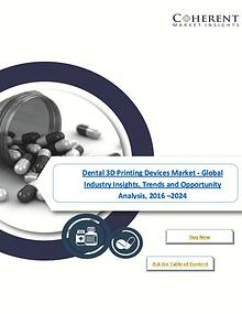Dental 3D Printing Devices Market