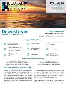 Leucadia Wastewater District Winter 2017 Newsletter