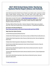 2017-2022 Global Top Countries Holter Monitoring Systems Market Repor