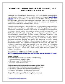 Vanilla Bean Market Trends and 2022 Forecasts for Manufacturers