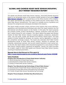 Global Heart Rate Sensor Industry Analyzed in New Market Report