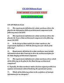CIS 429 RANK Extraordinary Life/cis429rank.com