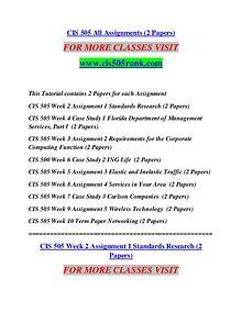 CIS 505 RANK Extraordinary Life/cis505rank.com
