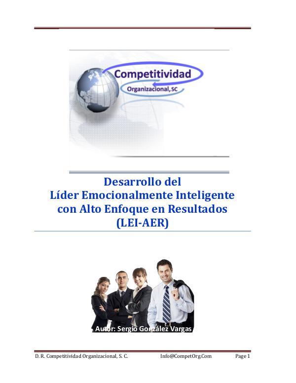 Líder Emocionalmente Inteligente con Alto Enfoque en Resultados Líder Emocionalmente Inteligente con Alto Enfoque