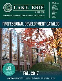 Fall 2017 Professional Development Catalog