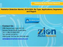 Radiation Detection Market, 2016-2024: By Type, Applications, Segment
