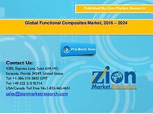 Global Functional Composites Market, 2016 – 2024