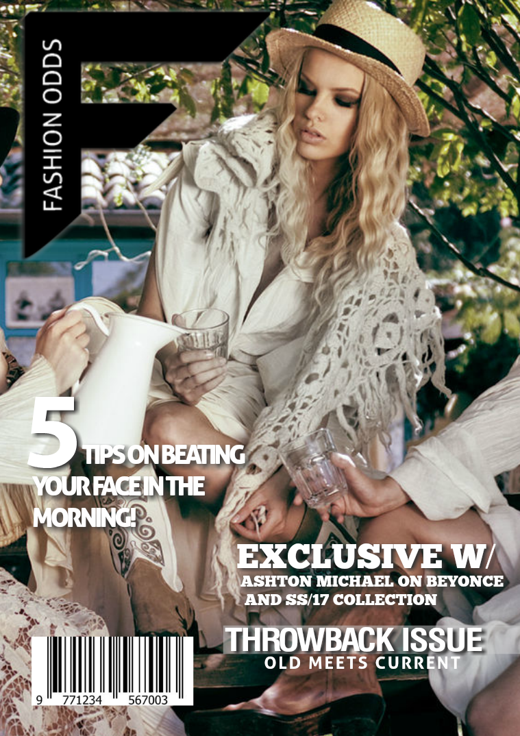 Fashion Odds ( OCT', Issue 24.) THROWBACK ISSUE