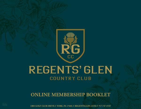 Regents' Glen Membership Packet 1