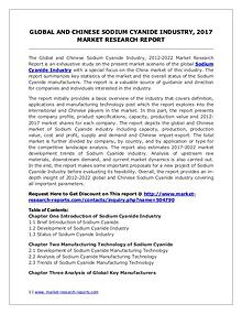 Sodium Cyanide Market Trends and 2022 Forecasts for Manufacturers