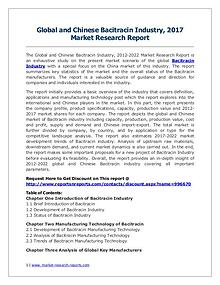Bacitracin Market 2012-2022 Analysis, Trends and Forecasts