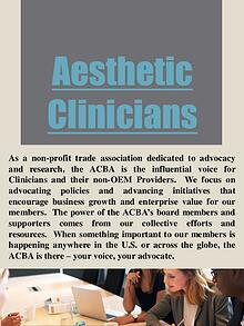 Cosmetic trade association