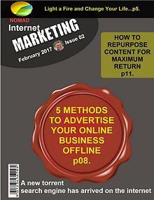 Nomad Internet Marketing Magazine February 2017 Issue 02