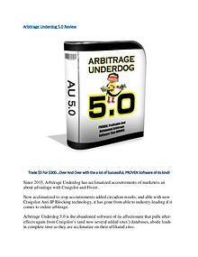 Arbitrage Underdog 5.0 Review