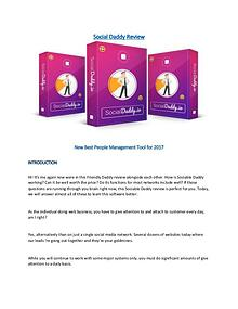 Social Daddy Review - New Best Social Management Tool for 2017