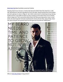 Better Beard Club http://dietplanusa.com/better-beard-club/