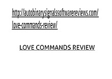 Love Commands Review