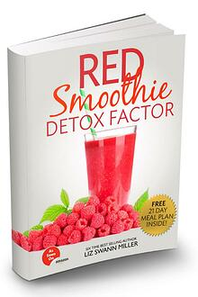 Liz Swann Miller's Red Smoothie Detox Factor PDF Free Download
