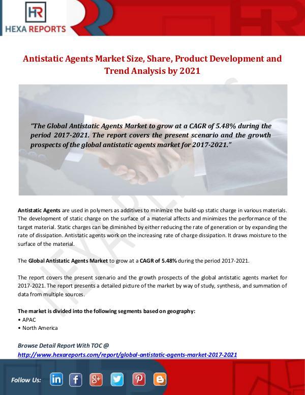 Hexa Reports Industry Antistatic Agents Market