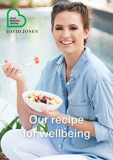 Our recipe for wellbeing