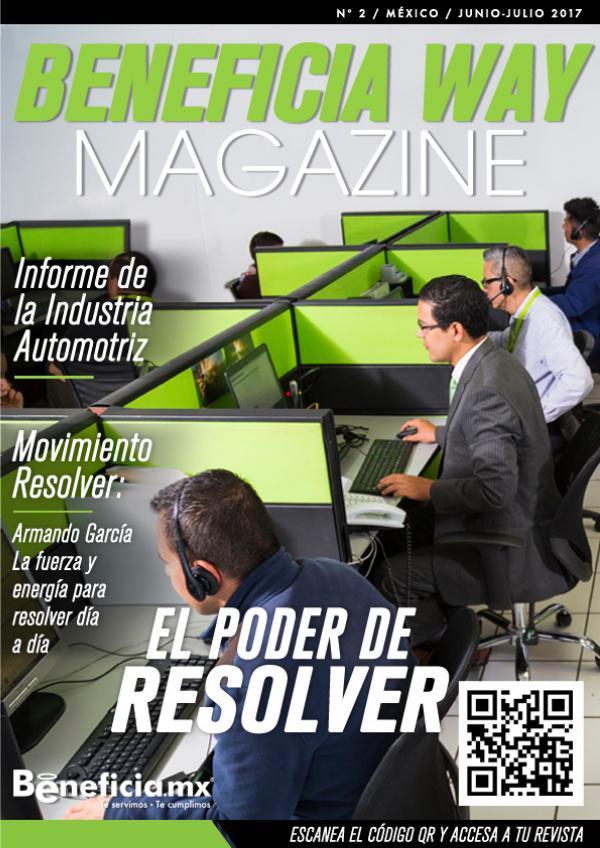 Beneficia Way Magazine JUNIO JULIO 2017