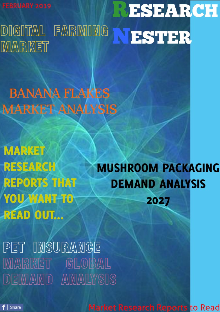 Business Magazine on Market Research - Research Nester Agriculture, Consumer goods, Packaging and BFSI