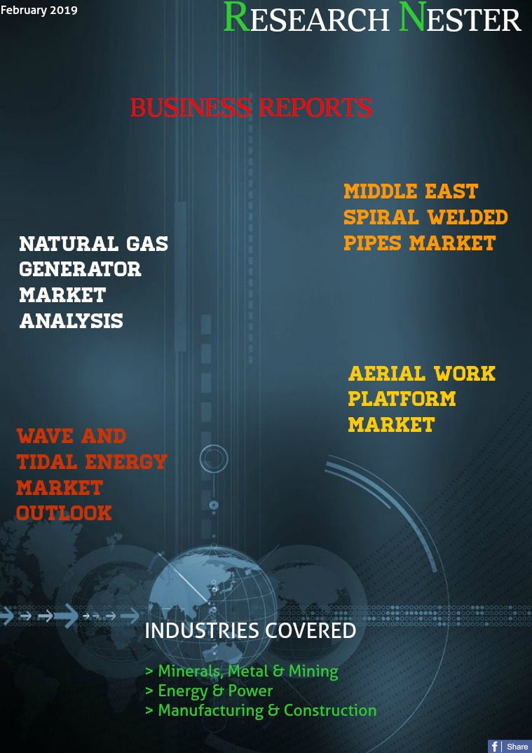 Business Magazine on Market Research - Research Nester Metals, Energy & Construction