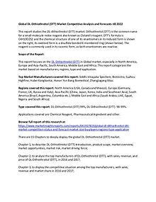 Global DL-Dithiothreitol (DTT) Market