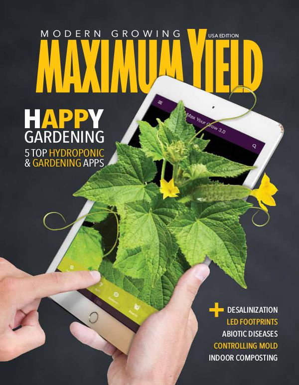 Maximum Yield USA May 2017