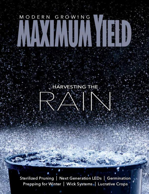 Maximum Yield USA November 2017