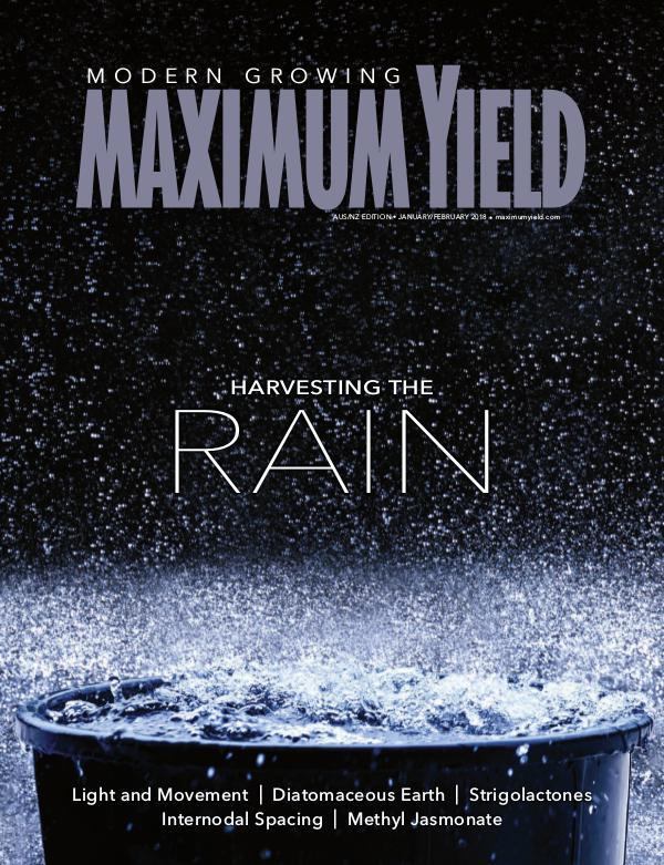 Maximum Yield Australia/New Zealand 2018 January/February