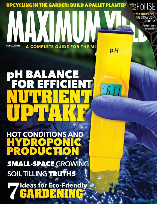 Maximum Yield USA February/March 2021
