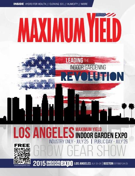 Maximum Yield USA 2015 July