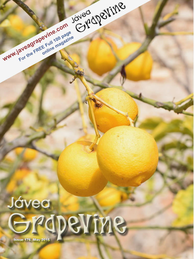 Javea Grapevine Issue 176 - 2015